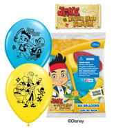 Jake Neverland Pirates Mylar Balloons