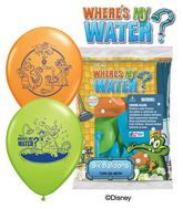 Where's My Water Balloons Mylar Balloons