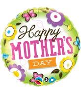 """18"""" Mother's Day Springtime Balloon"""