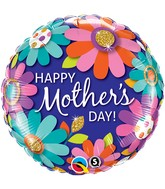 """18"""" Mother's Day Fashion Floral Balloon"""