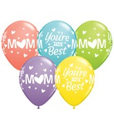 """11"""" M(Heart)M You're The Best Latex Balloons (50 ct.)"""