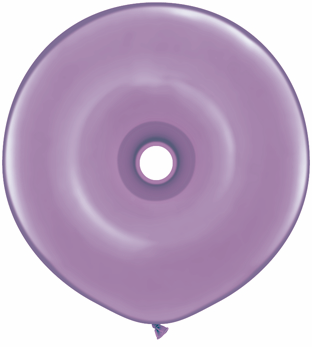 """16"""" Geo Donut Latex Balloons (25 Count) Spring Lilac"""