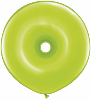 """16"""" Geo Donut Latex Balloons (25 Count) Lime Green"""
