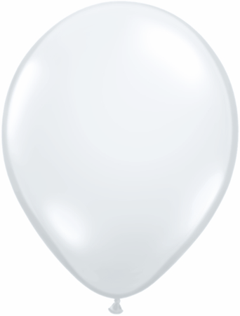 "5""  Qualatex Latex Balloons  DIAMOND CLEAR  100CT"