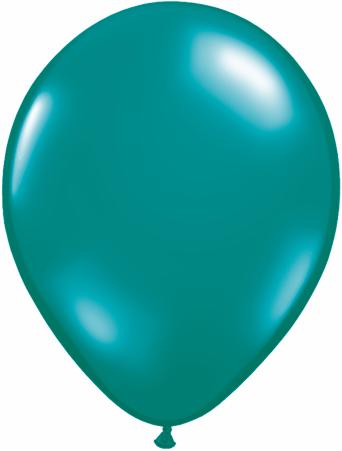 "5""  Qualatex Latex Balloons  JEWEL TEAL     100CT"