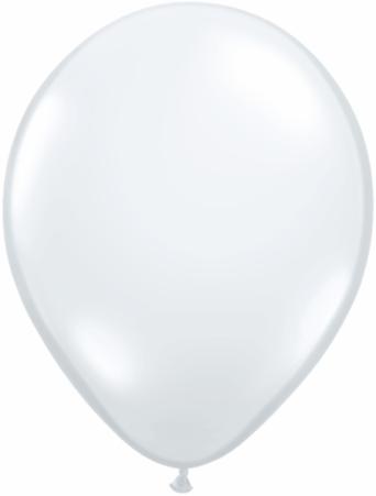 "9""  Qualatex Latex Balloons  DIAMOND CLEAR  100CT"