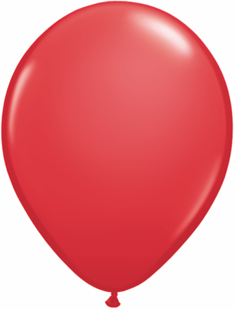"9""  Qualatex Latex Balloons  RED            100CT"