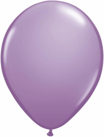 "11"" Qualatex Latex Balloons 25 Per Bag Spring Lilac"