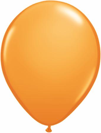 "11"" Qualatex Latex Balloons 25 Per Bag Orange"