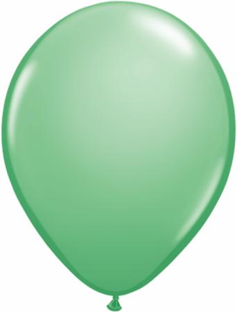 "11"" Qualatex Latex Balloons 25 Per Bag Wintergreen"