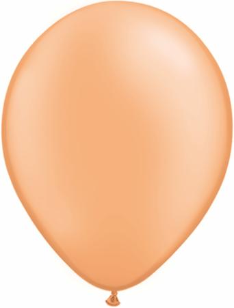 "11""  Qualatex Latex Balloons  NEON ORANGE    100CT"
