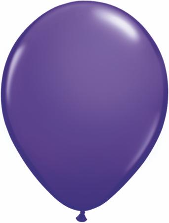 "5""  Qualatex Latex Balloons  PURPLE VIOLET  100CT"