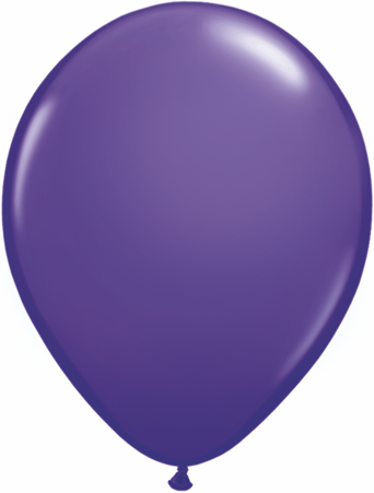 "16""  Qualatex Latex Balloons  PURPLE VIOLET   50CT"
