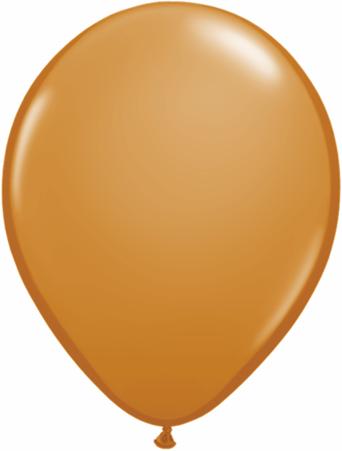 "11""  Qualatex Latex Balloons  MOCHA BROWN    100CT"