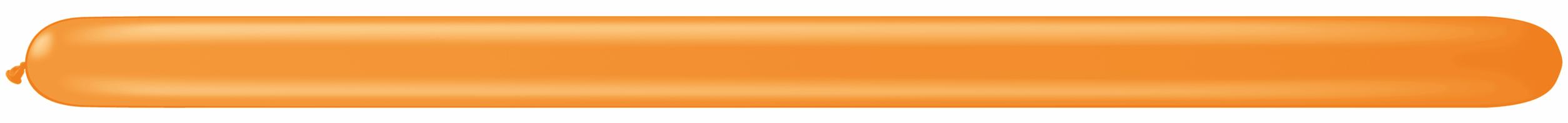350Q Latex Balloons (100 Count) Orange