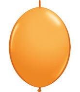 """12"""" Qualatex Latex Quicklink Orange 50 Count"""