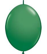 "12"" Qualatex Latex Quicklink Green 50 Count"