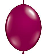 "12"" Qualatex Latex Quicklink Sparkling Burgundy 50 Count"