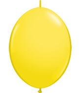 "06"" Qualatex Latex Quicklink Yellow 50 Count"