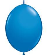 """06"""" Qualatex Latex Quicklink Dark Blue 50 Count"""