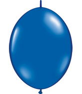 "06"" Qualatex Latex Quicklink Sapphire Blue 50 Count"