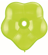 """6"""" Geo Blossom Latex Balloons  (50 Count) Lime Green"""