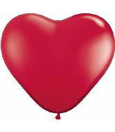 36 Inch Heart Latex Balloons Mylar Balloons