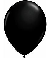 "5""  Qualatex Latex Balloons  ONYX BLACK     100CT"