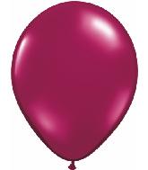"5""  Qualatex Latex Balloons  SPARKLING BURGUNDY   100CT"