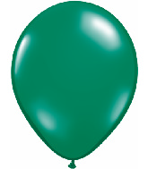 "5""  Qualatex Latex Balloons  EMERALD GREEN  100CT"