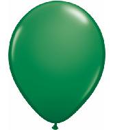 "5""  Qualatex Latex Balloons  GREEN          100CT"