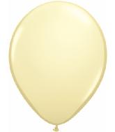 "5""  Qualatex Latex Balloons  IVORY SILK     100CT"