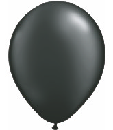 "5""  Qualatex Latex Balloons  Pearl ONYX BLACK   100CT"