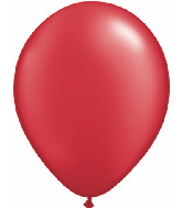 """5""""  Qualatex Latex Balloons  Pearl RUBY RED   100CT"""