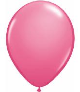 "5""  Qualatex Latex Balloons Fashion ROSE 100CT"
