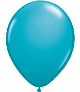 "5""  Qualatex Latex Balloons  TROPICAL TEAL  100CT"