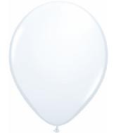 "5""  Qualatex Latex Balloons  WHITE          100CT"