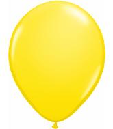 "5""  Qualatex Latex Balloons  YELLOW         100CT"