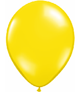 "9""  Qualatex Latex Balloons  CITRON YELLOW    100CT"