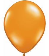 "9""  Qualatex Latex Balloons  MANDARIN ORANGE    100CT"