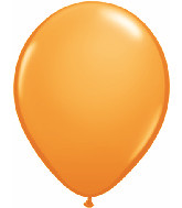 "9""  Qualatex Latex Balloons  ORANGE         100CT"