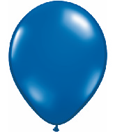 "9""  Qualatex Latex Balloons  SAPPHIRE BLUE  100CT"