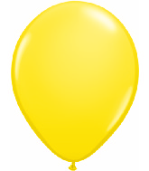 "9""  Qualatex Latex Balloons  YELLOW         100CT"