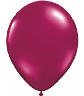 "11""  Qualatex Latex Balloons  SPARKLING BURGUNDY   100CT"