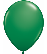 "11""  Qualatex Latex Balloons  GREEN          100CT"