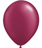 "11""  Qualatex Latex Balloons  Pearl BURGUNDY   100CT"
