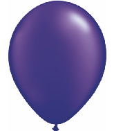 "11""  Qualatex Latex Balloons  Pearl QUARTZ PURPLE  100CT"