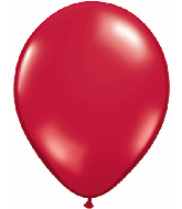"""16""""  Qualatex Latex Balloons  RUBY RED        50CT"""