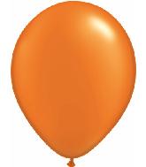 "5""  Qualatex Latex Balloons  Pearl MANDARIN   100CT"