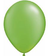 "5""  Qualatex Latex Balloons  Pearl LIME GREEN   100CT"